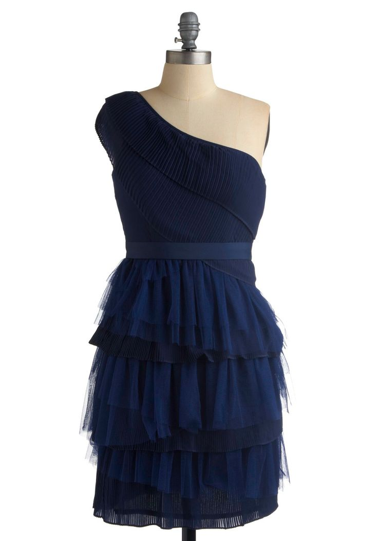 bridesmaid dress ideas... En-meshed in Layers Dress $94.99 mod cloth, love its girly-ness!