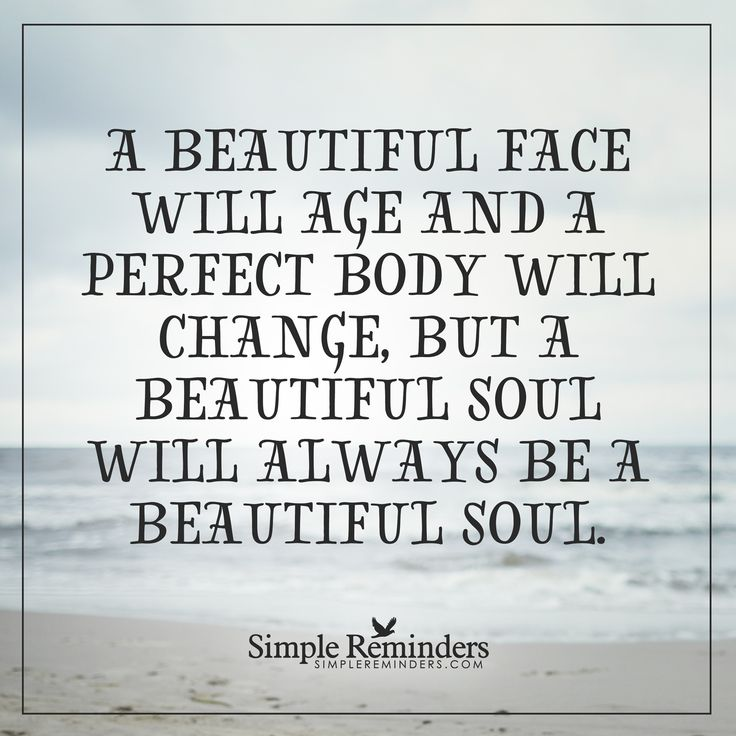 A beautiful face A beautiful face will age and a perfect ...