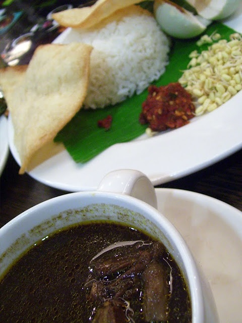 Nasi Rawon (Traditional East Java Beef Soup)