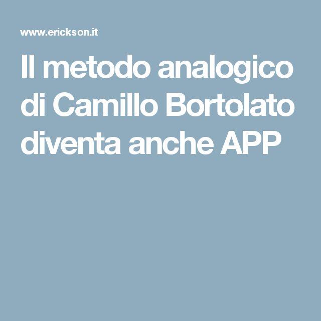 Il metodo analogico di Camillo Bortolato diventa anche APP