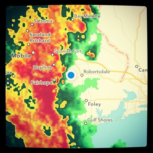 Guess I'm not going anywhere for a while.... #stormsabrewin #storm #thunderstorm #badweather #alabama #radar #currently