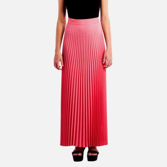 Black Eyed Susan - Cosmic Dancer Maxi Skirt – Coral @ Superbalist