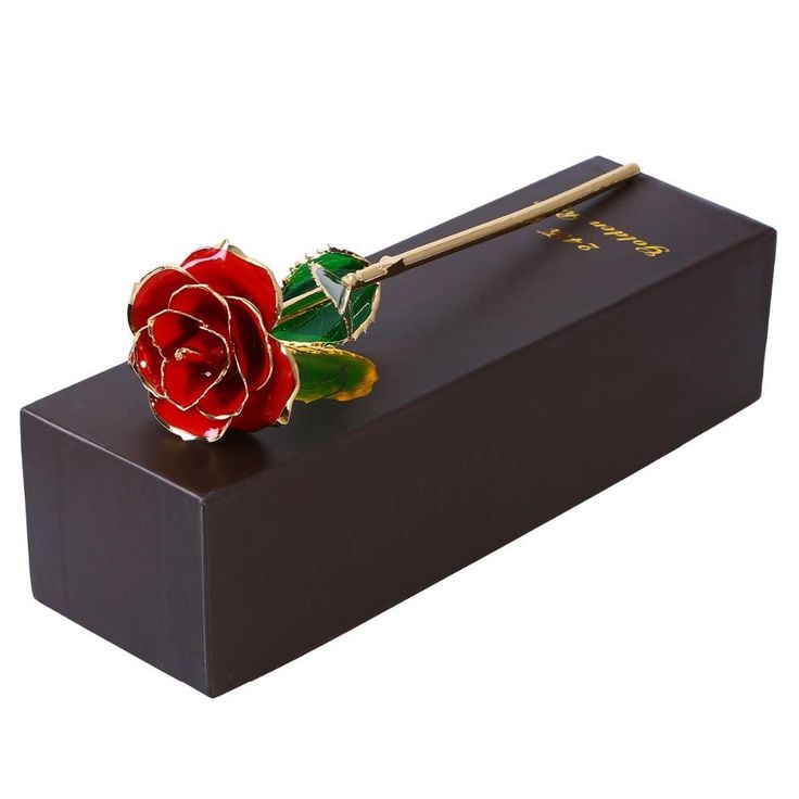 24K GOLD DIPPED ETERNITY ROSE – GIVE THE ULTIMATE GIFT OF ROMANCE…GUARANTEED TO LAST FOREVER.. Gifts For Mom, Gifts For Her, Gifts for Girlfriend, Gifts for Girls, Gifts for Wife,