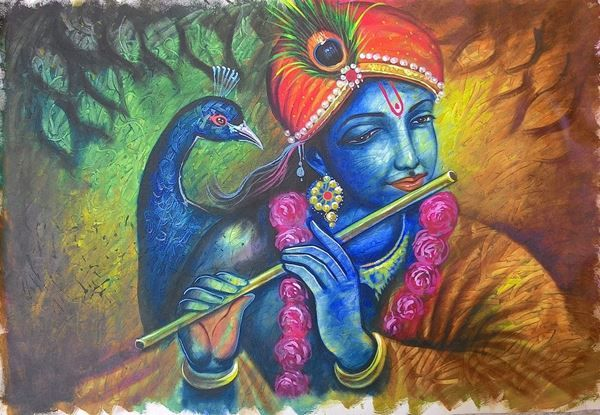 Buy hand painted paintings art online India for Office-Home. 100% Original…