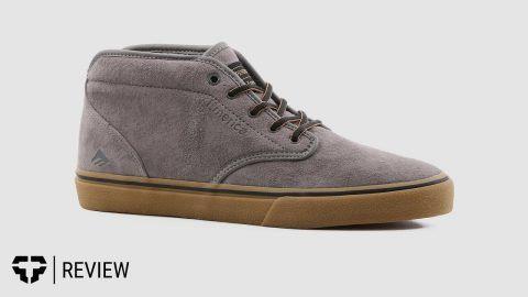 aa5bb883101 Emerica Wino G6 Mid Skate Shoe Review- Tactics.com