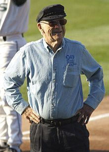 Ernie Harwell-THE voice of the Detroit Tigers : )