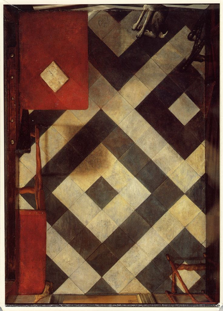 Floor, Samuel Van Hoogstraten's Peepshow