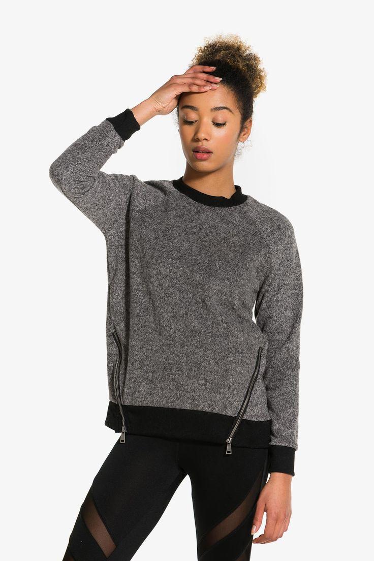 Fuzzy MOVE sweater