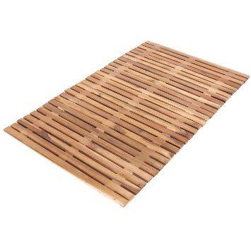tapis salle de bains lagos caillebotis bois d 39 acacia
