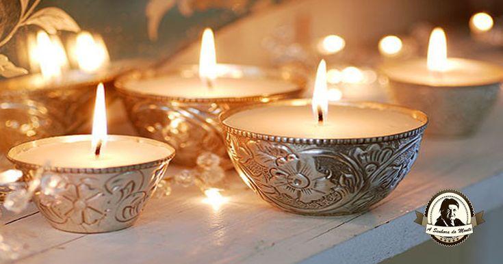 Como remover manchas de cera de velas