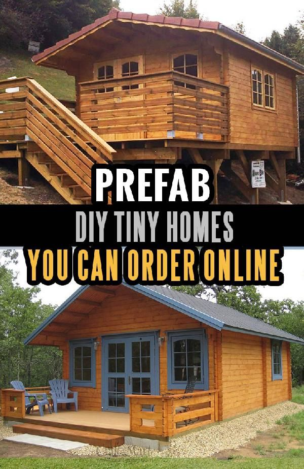 Tiny House Plans and Cabins (Prefabs, Kits, DIY plans