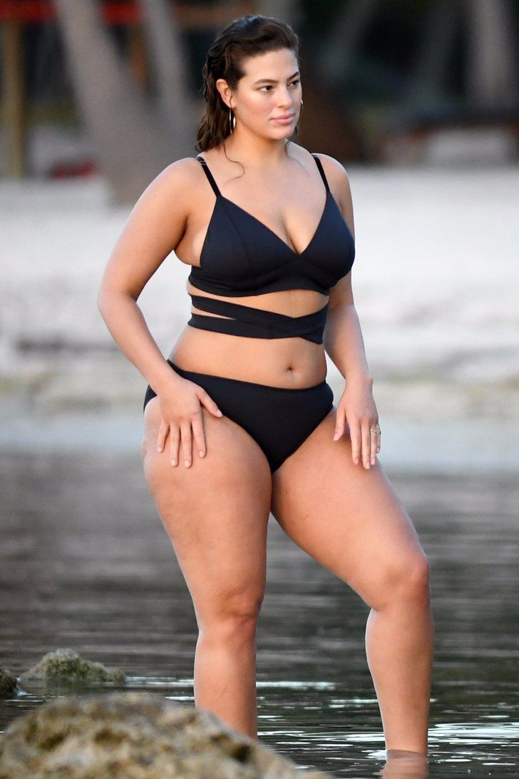 Ashley Graham Slips Into a Sexy Bikini For a Photo Shoot on the Beach