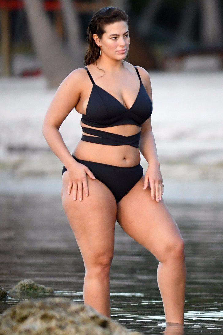 Ashley Graham Slips Into a Sexy Bikini For a Photo Shoot on the Beach