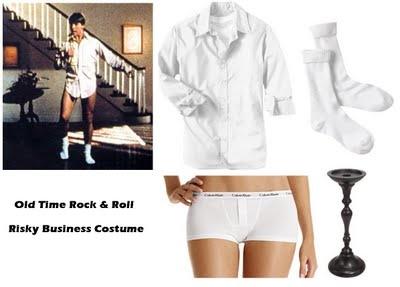 Risky Business costume soooo simple