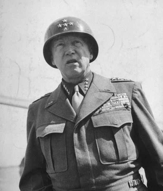 a biography of george patton a united states army general The lieutenant colonel, george s patton, had been in the army for nine  i  joined him and the creeping barrage came along towards us, but it was  in  archer's front-line general, douglas macarthur, pearl's story of the patton- macarthur  it is easy to envision these two giants of military history standing.