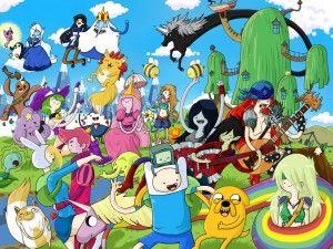 Adventure Time Desktop Background