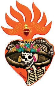 The heart of The dead friends and family... Is... Alive!! ... in The day of The dead party. Oh yes! ♥ SLVH ♥