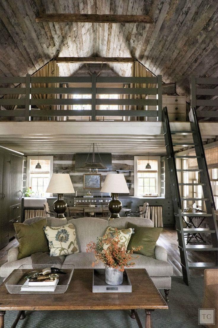 House Tour:  Chic Sewanee Cabin Style