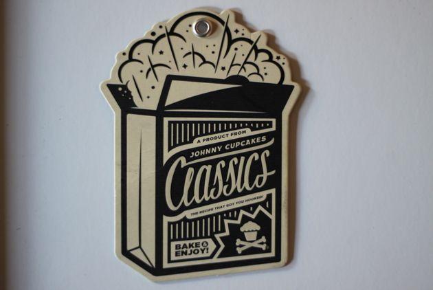 Johnny Cupcakes Classics Hang Tag