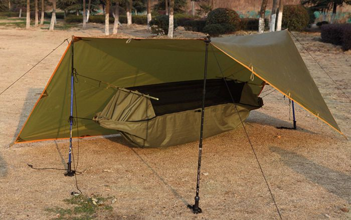 Ofertas -  Multifunctional Portable Tent Hammock for Camping Dual zippers design Waterproof: $59.31End Date: Aug-11… Envio Internacional -