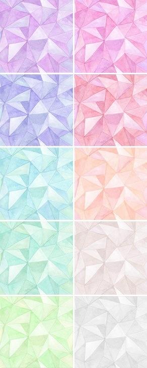 August Empress – Watercolor Trianglular Seamless Pattern (via http://pinterest.com/pin/182818066094656028/)