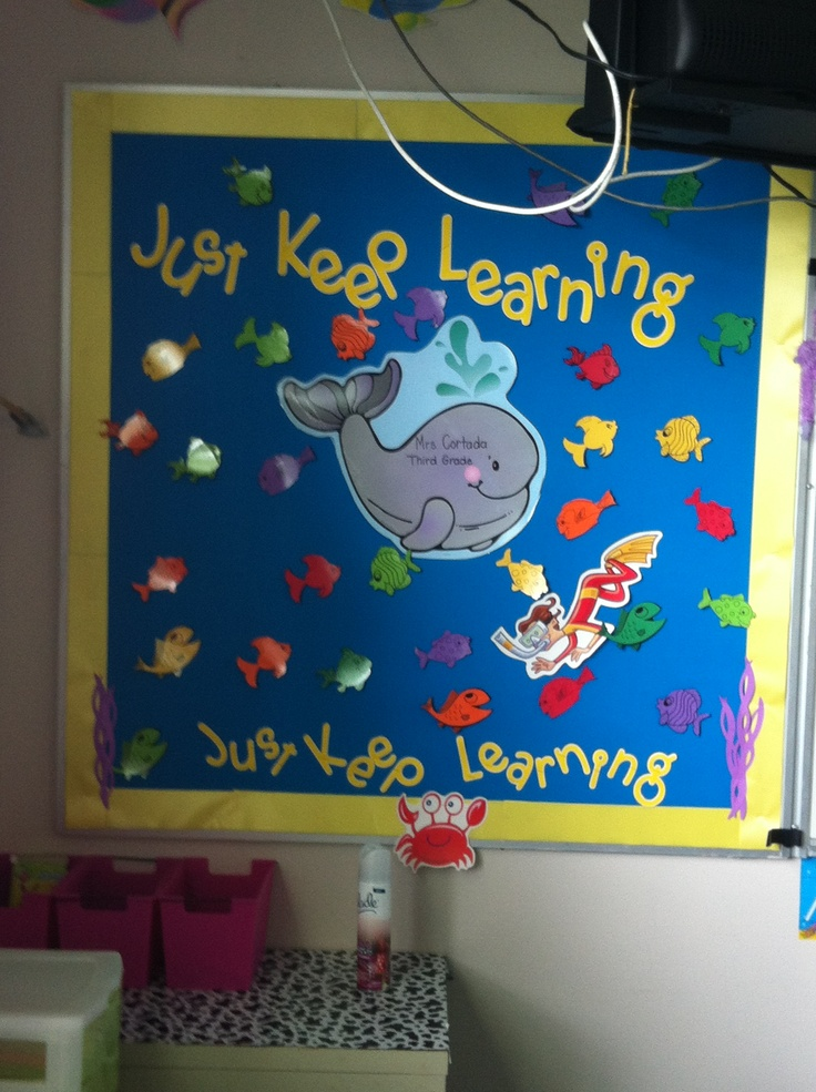 Classroom Decor Under The Sea ~ Under the sea classroom decor this would be cute to make