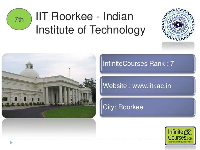 Top 10 Architecture Colleges in India  IIT ROROKEE ,UTTAR PRADESH , LEADS THE CIVIL ENGINEERING & ARCHITECTURE IN INDIAN ENGINEERING COLLEGES.