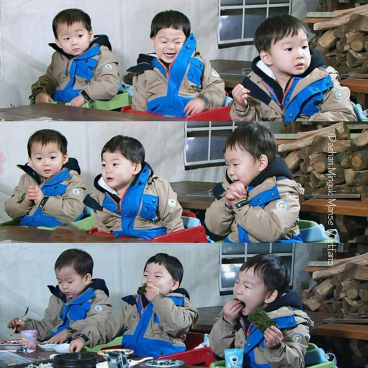 Triplets #Daehan#Minguk#Manse
