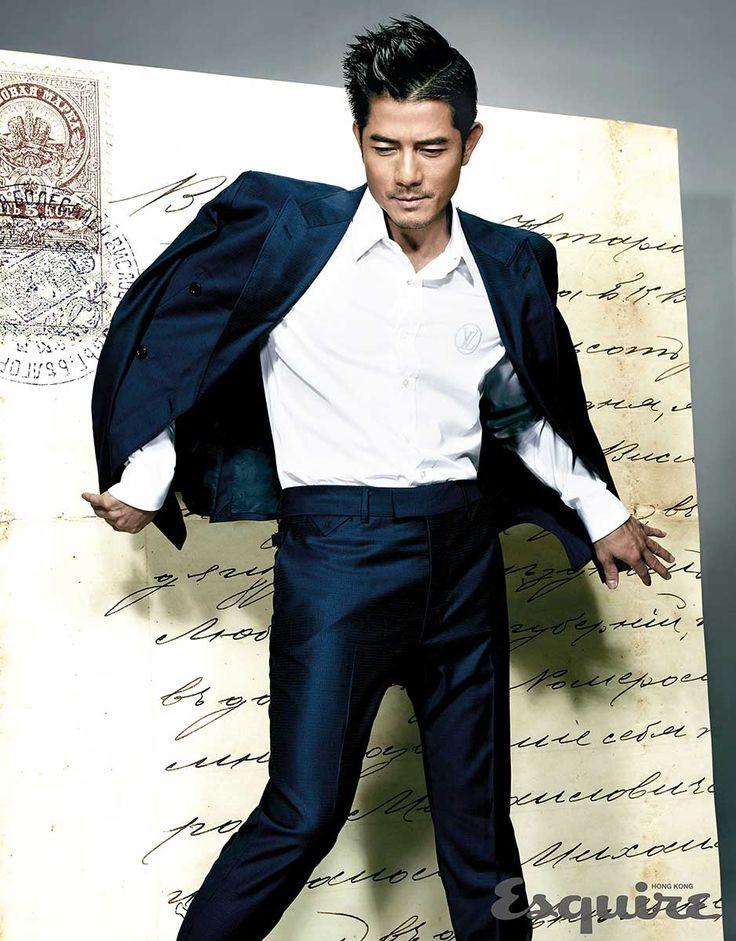 Aaron Kwok para Esquire Hong Kong Julio 2016