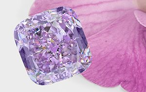 National Jeweler - Leibish debuts $4M 'Purple Orchid' diamond