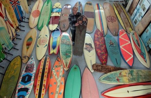 Anche Agatha Christie era una grande surfista. http://www.nuvolari.tv/acqua/museo-surf-apre-uk