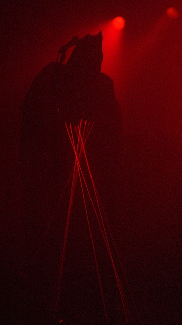 Attila Csihar Of Sunn O))) by Metal Chris, via Flickr