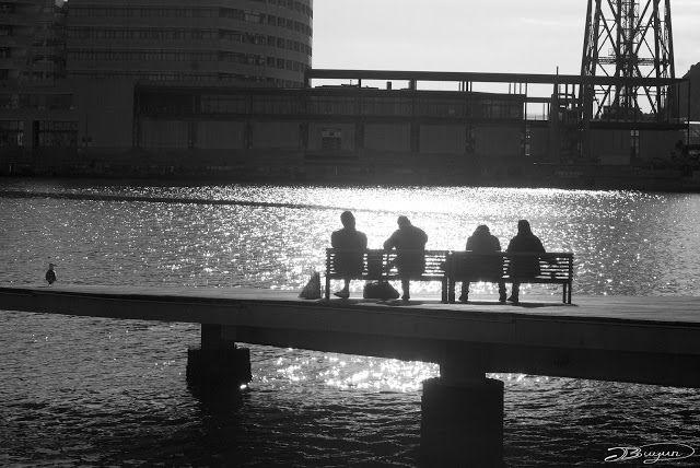 Día soleado en Maremagnum Barcelona