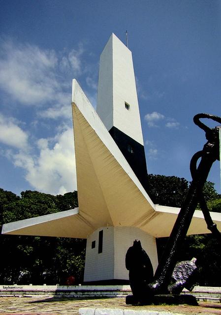 Farol do Cabo Branco - João Pessoa , Brasil .