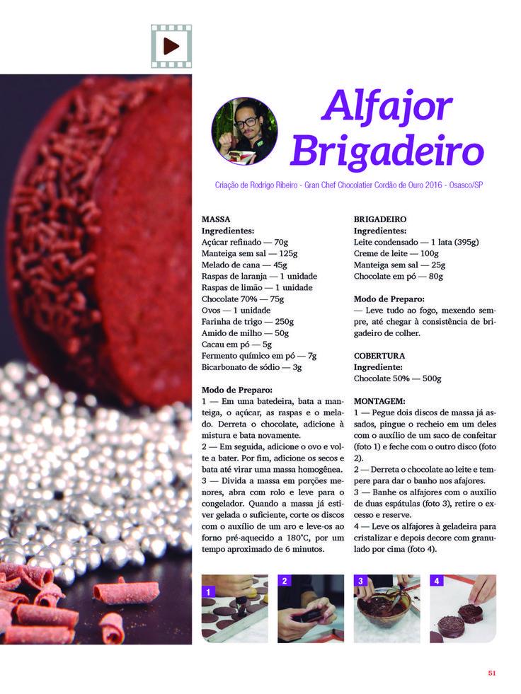 Alfajor brigadeiro 2
