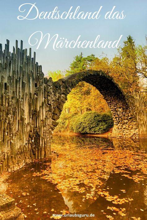 Märchenhafte Landschaften, mystische Wälder, verwunschene Seen und romantische Schlösser – Deutschland steckt voller geheimnisvoller Überraschungen. Burg Eltz, Rakotzbrücke, Spreewald und Blautopf - Ich zeige euch meine Top 10 der Orte in Deutschland, an denen ihr euch fühlt wie im Märchen!