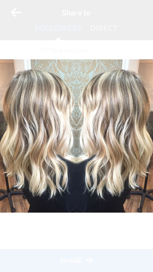 Sombre sun kissed highlights