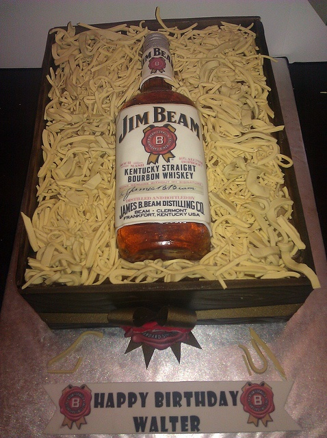 Jim Beam Cake Decorations