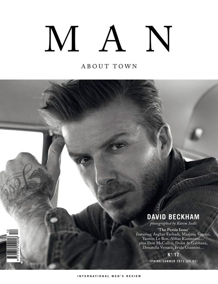 Man About Town Spring/Summer 2013 Cover