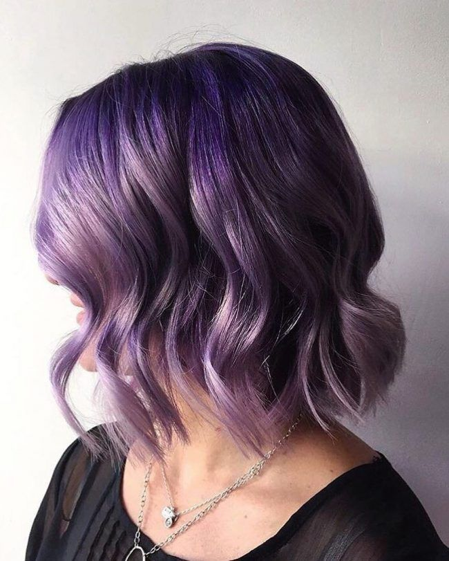 short twa hairstyles : about Short Purple Hair on Pinterest Burgundy plum hair, Short hair ...