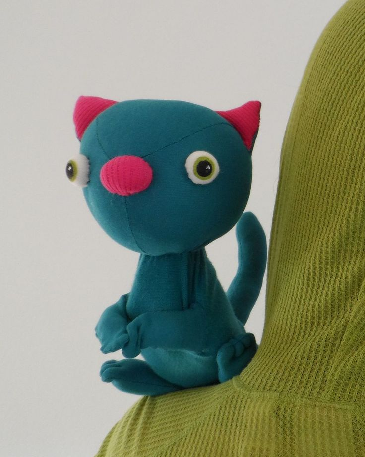 hand puppet cat