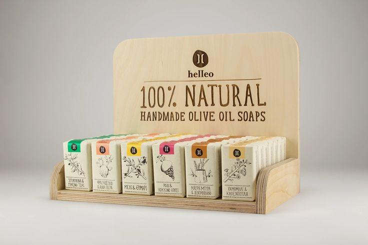 Packed Design - Referências de Design de Embalagens: Helleo - Natural soaps - Packaging