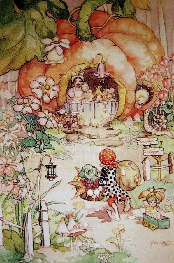 Peg Maltby - pixies   * Design: Children's Narrative Illustrations ...