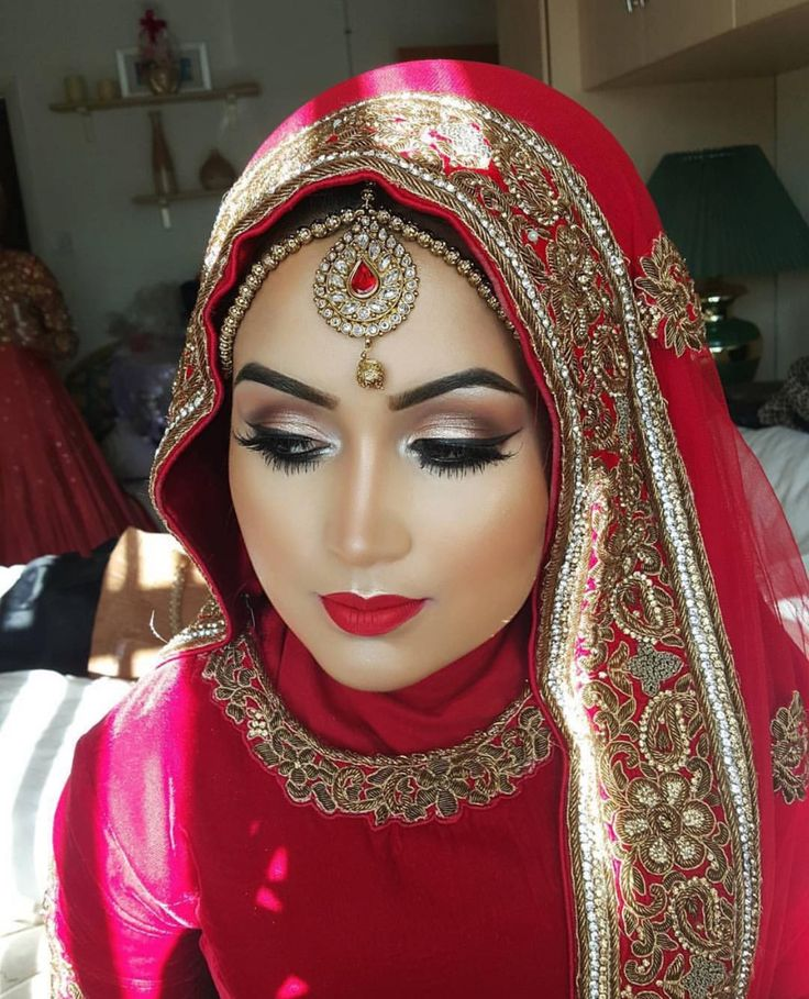 Muslim Hijabi Bride (With images) | Hijab wedding dresses