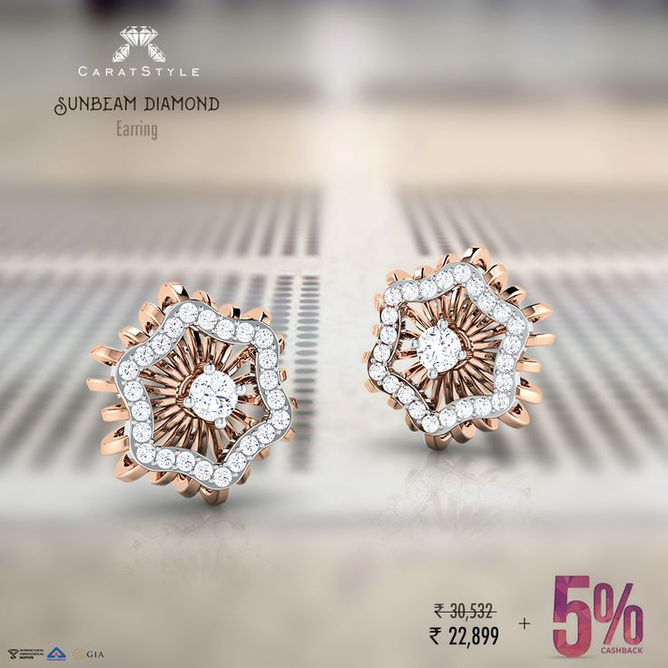 To all the young entrepreneurs out there; A pair of #diamond #earrings can make up for a lot of lost dinners...  5% #cashback on this -  #jewelry #fashion #ecommerce #onlineshop