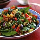 Foto recept: Gemengde oosterse groenten met oestersaus, knoflook en gember