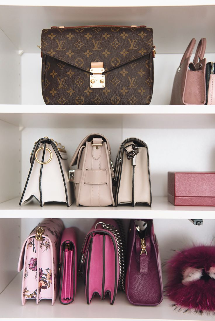 Shoe and bag closet , walk in closet, designer bags   More on www.fashiioncarpet.com