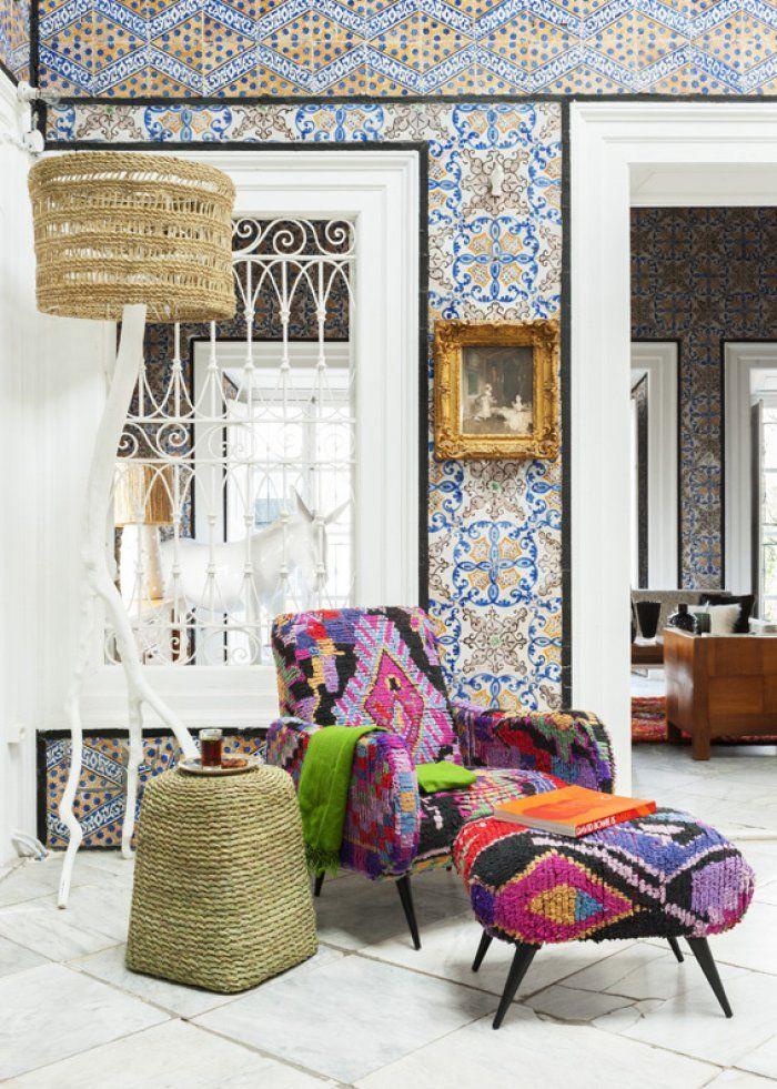 25 beste idee n over marokkaanse kleden op pinterest kelims kleurrijke tapijten en kleding - Deco kamer jongen jaar ...
