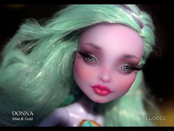 Monster High Repaint Art Doll OOAK  Twyla  Donna by ItheDoll