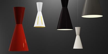 Lámpara de techo en varios colores